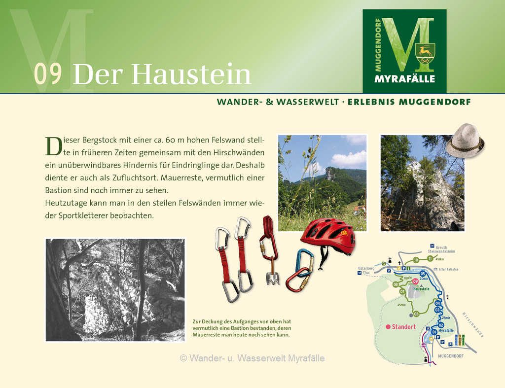 Themenstation 9.) Der Hausstein