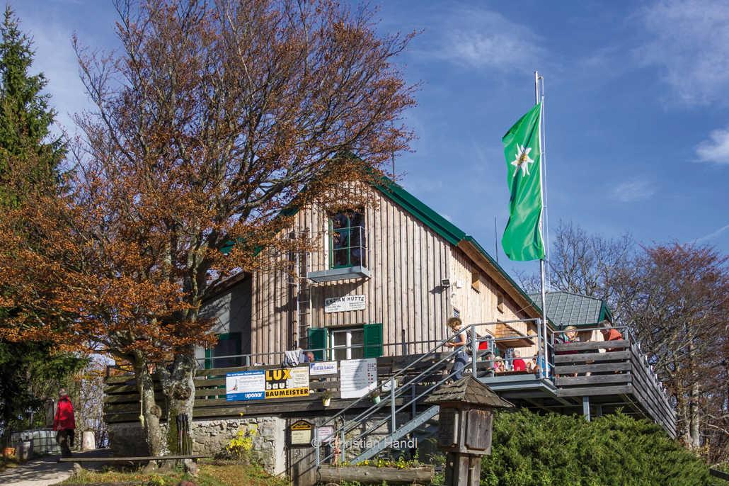 Schutzhaus am Kieneck Enzianhütte